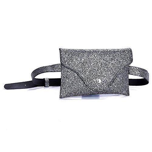 In Marsupio Tracolla Pelle Donna Paillettes Portafoglio marsupio Mano Donna Moda E Per A Handbag Con Pochette Strap Panpany Borsa Clutch tpwrPpqg