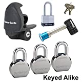 Master Lock - 6 Trailer Locks Keyed Alike #6KA-3796230-3