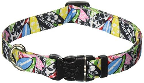 Yellow Dog Design Surfboards Dog Collar - Size Medium 14