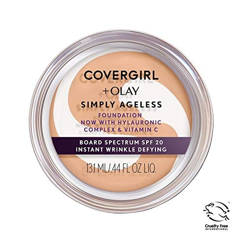 Covergirl & Olay Simply Ageless Instant Wrinkle-Defying Foundation, Classic Ivory from COVERGIRL