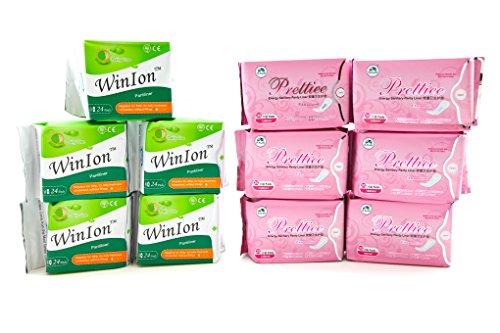 5 packs Winion Pantiliner + 6 packs Prettiee Energy Sanitary Panty liner by Prettiee (Image #3)