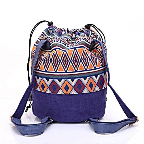 tejidos MONETTI finas con algodón bolso de de bolsa decoraciones FIA Shopper hombro Damen bolsa wYFnUnSq