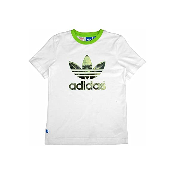 8618f6d9 Adidas X Star Wars Youth Boys Teen Yoda T-Shirt Limited Edition S14433.  SIZE - 14-15 YEARS.: Amazon.co.uk: Clothing