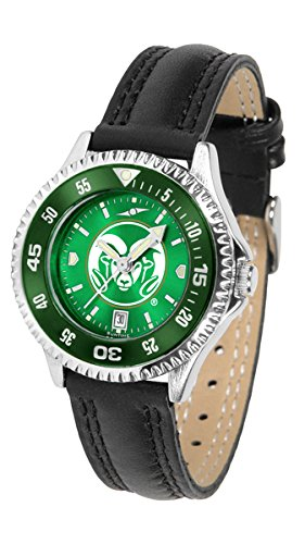Colorado State Rams Competitor AnoChrome Women's Watch - Color Bezel by SunTime
