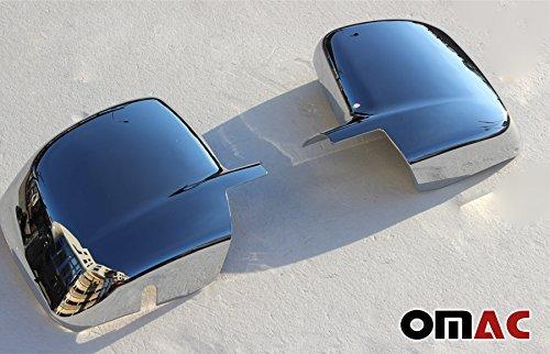 Edelstahl Chrom Spiegelkappen Blenden Spiegel Abdeckung Schutz Fiorino Qubo Nemo Bipper 2007
