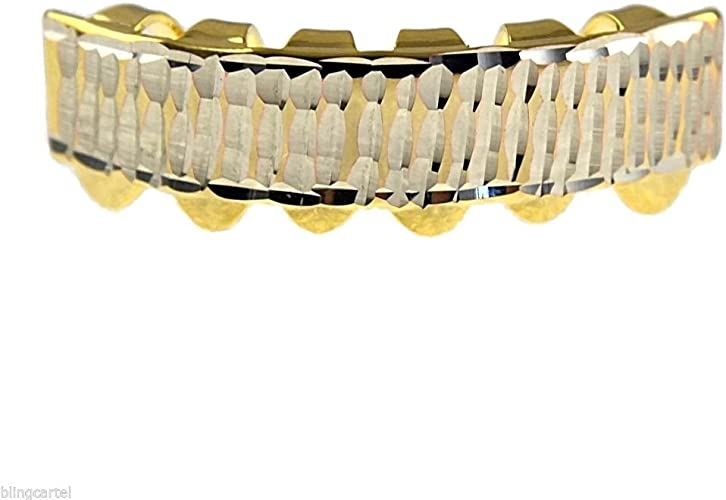 Bottom Lower Hip Hop 14K Gold Plated Mouth Teeth Grills Grillz