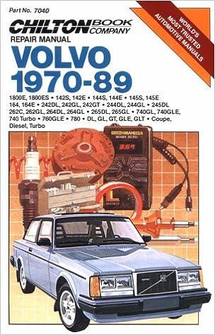 Volvo, 1970-89 (Chiltons Repair Manual) Paperback – November 1, 1989