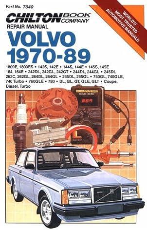 volvo 1970 89 chilton s repair manual chilton 9780801979446 rh amazon com 2004 Volvo S80 Volvo 850 GLT