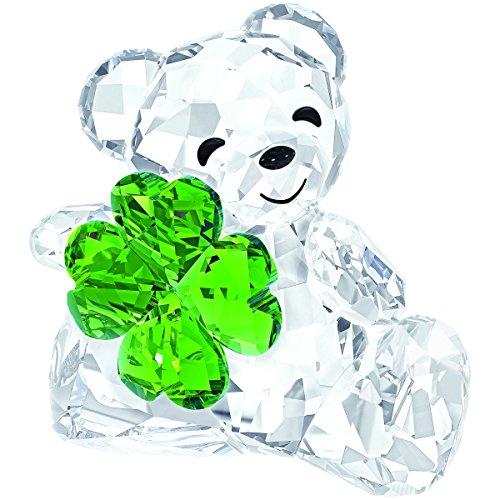 Swarovski Kris Bear Crystal Figurine, Good Luck