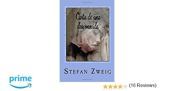 Carta de una desconocida: Amazon.es: Stefan Zweig, JM Tues ...