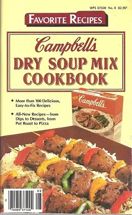 Campbells Soup Magazine - Dry Soup Mix Cookbook by Campbell