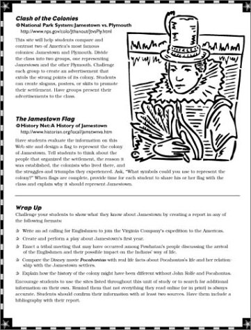 Printables Jamestown Worksheet printables jamestown worksheet safarmediapps worksheets instant internet activities folder 9780439309547 amazon com books