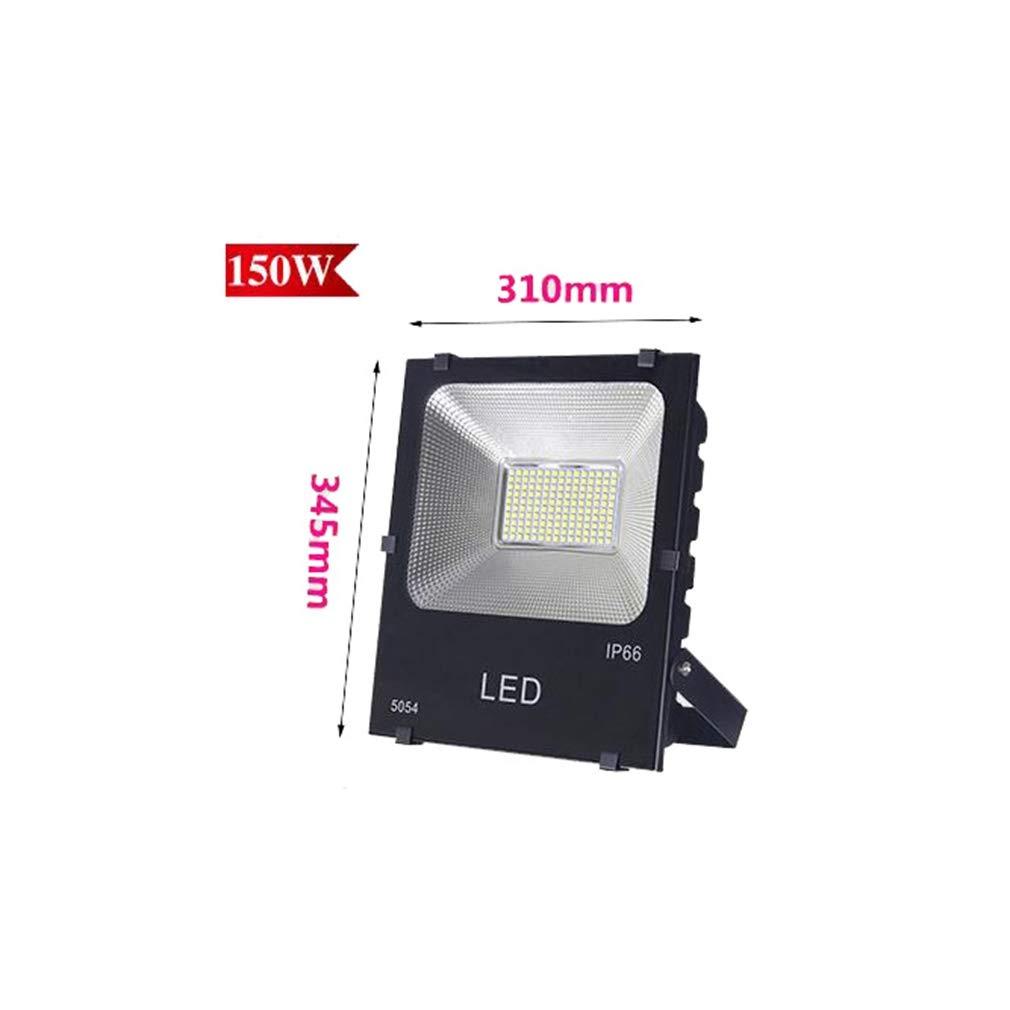 Csndice Home Faretto a LED Super Bright Outdoor Security Light Faretti impermeabili Luci di lavoro IP65 66 (dimensioni   150W)