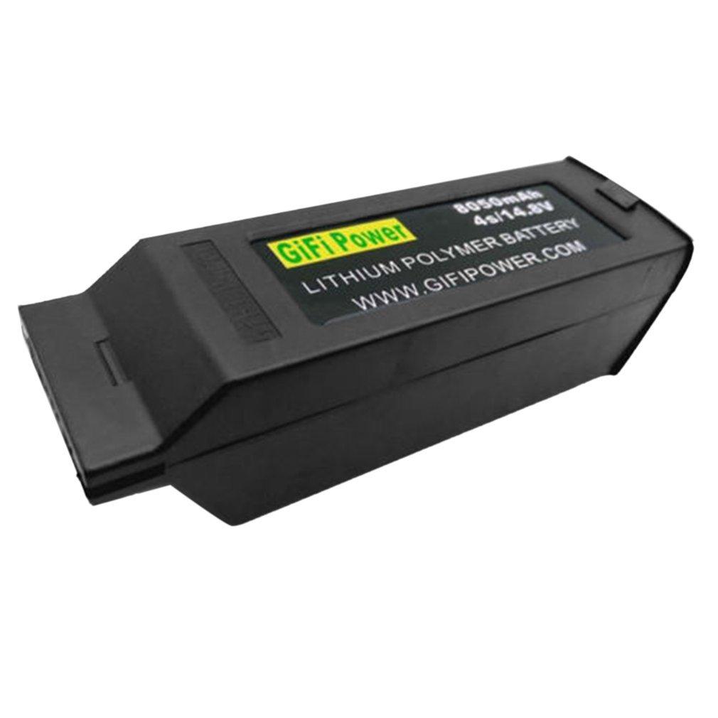 FairytaleMM 8050mAh 14.8V 4S Reemplazó la batería de Repuesto Lipo para Yuneec Typhoon H H480 (Color: Negro)