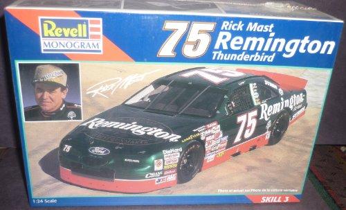 (#2518 Revell /Monogram Rick Mast #75 Remington Thunderbird 1/24 Scale Plastic Model Kit)