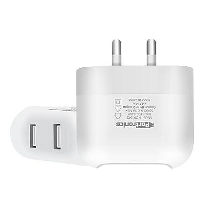 Portronics Premium Two Port 2 4 amp Portable USB Power: Amazon in