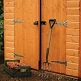 Rowlinson A053 Secure Storage Shed, 8' by