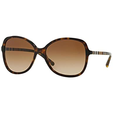 BURBERRY 0BE4197 300213 58, Montures de Lunettes Femme, Marron (Dark  Havana Browngradient fd3a4841d338