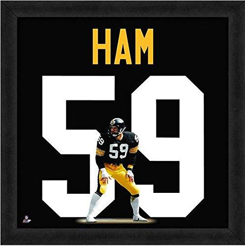 Jack Ham Pittsburgh Steelers UniFrame Photo (Size: 20