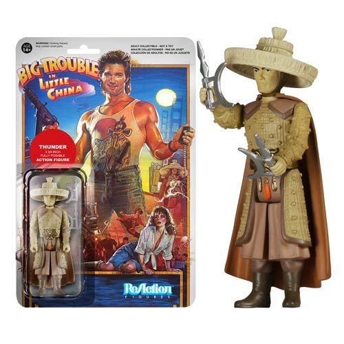 Big Trouble in Little China Thunder ReAction 3 3/4-Inch Retro Action Figure