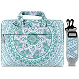 MOSISO Laptop Shoulder Bag Compatible with 2019 MacBook Pro 16 inch A2141, 15 15.4 15.6 inch Dell Lenovo HP Asus Acer Samsung Sony Chromebook, Carrying Briefcase Handbag Sleeve Case Mandala MO-MDL001