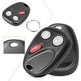 GZYF 2Pcs Car Keyless Entry Remote Control Key Fob Replacement 3-Button for 2003-2006 Chevrolet Avalanche GMC Sierra Yukon 2003-2007 Hummer H2