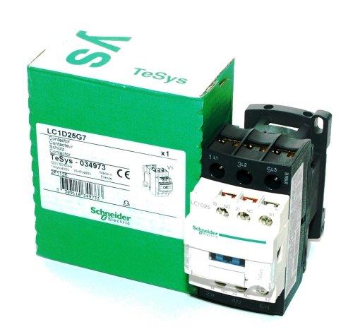 3 Pole, 120 Coil VAC at 50/60 Hz, 25 Amp at 440 VAC and 40 Amp at 440 VAC, Nonreversible IEC ()