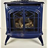 Thelin Echo Direct Vent Natural Gas or LP Heater - Porcelain Blue