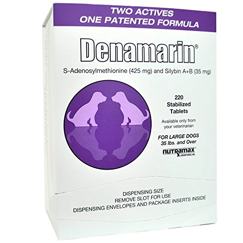 Denamarin for Large Dogs, Over 35 lbs, Purple 425mg (220 tabs)