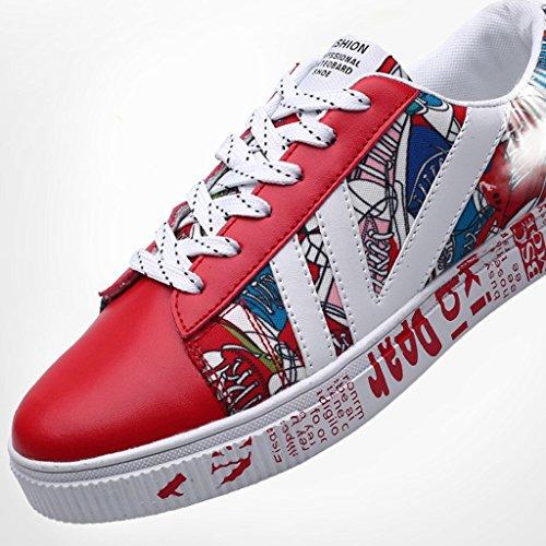 sur de 39 Chaussures Homme Coréen pour Noir Tissu Chaussures Toile Homme Red YaNanHome Chiffon Chaussures Décontracté Wild Trend pour Respirant Style Chaussures dwIa8xPnqR