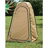 Changing Room Privacy Tent Beach Cabana Stand Up Beige Camping Tent (4 x 4 x 6.5)