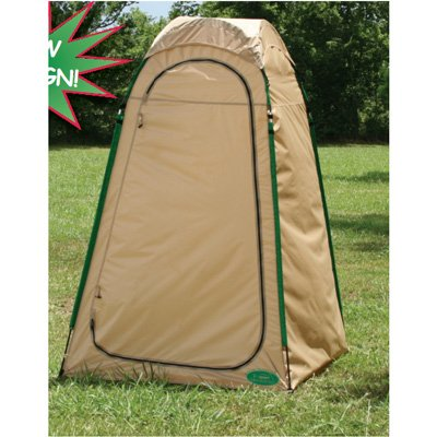 Changing Room Privacy Tent Beach Cabana Stand Up Beige Camping Tent (4 x 4 x 6.5) by TSport