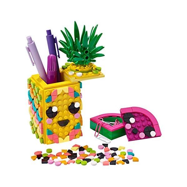 LEGO- Dots Portapenne Decora i Pannelli dell'Ananas e della Piccola Scatola Anguria ed Esponi Le tue Creazioni, Set di… 3 spesavip