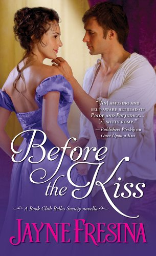 book cover of Before the Kiss