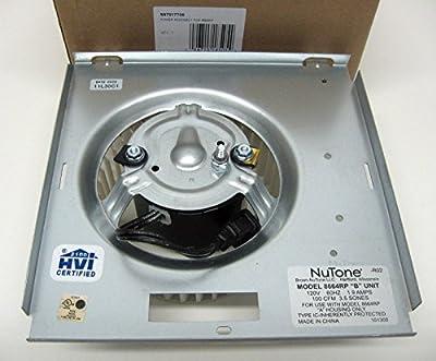 GENUINE OEM S-97017706 Broan Nutone Motor Blower Wheel for Bathroom Exhaust Fan Model 8664RP