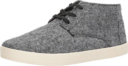 TOMS Men's Paseo Mid Wool Sneaker, Size: 12 D(M) US, Color: Grey Slub Textile -