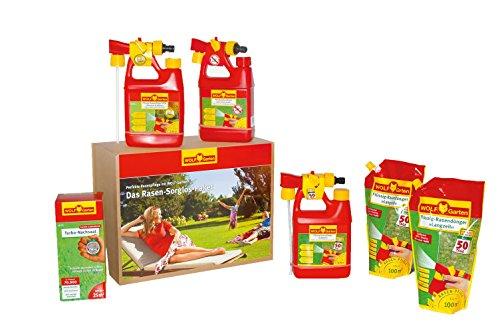 WOLF-Garten Rasen-Sorglos-Paket 100 m² flüssig P720; 3734720
