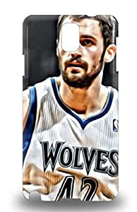 Galaxy Note 3 3D PC Case Cover Slim Fit Tpu Protector Shock Absorbent 3D PC Case NBA Minnesota Timberwolves Kevin Love #42 ( Custom Picture iPhone 6, iPhone 6 PLUS, iPhone 5, iPhone 5S, iPhone 5C, iPhone 4, iPhone 4S,Galaxy S6,Galaxy S5,Galaxy S4,Galaxy S3,Note 3,iPad Mini-Mini 2,iPad Air )