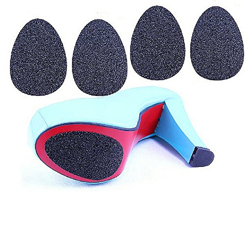 Sunmel 2 Pairs Anti-slip High-heeled Shoes Sole Protector Pads Sticker, Non-slip Grip Cushion Sticker (2 pairs) -
