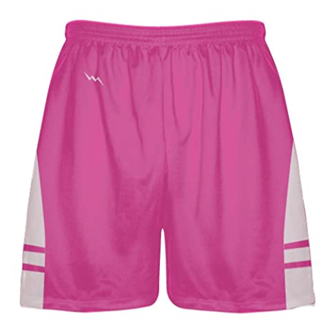 low priced 8dc62 a3ef4 Hot Pink Light Pink Athletic Shorts - Boys Mens Lacrosse Shorts Small