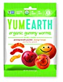 YumEarth Organic Gummy Worms, 2.5 Ounce (Pack of 12) (Packaging May Vary)