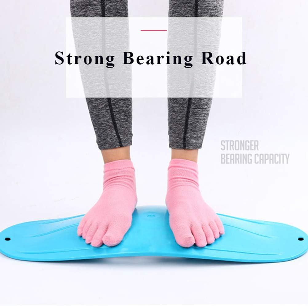 Poxcap Balance Board Torsion Fitness Boards Muscles abdominaux Jambes Taille Planche Twist Yoga Planks Outil dentra/înement robuste pour aider /à int/égrer le corps Renforcer pratique