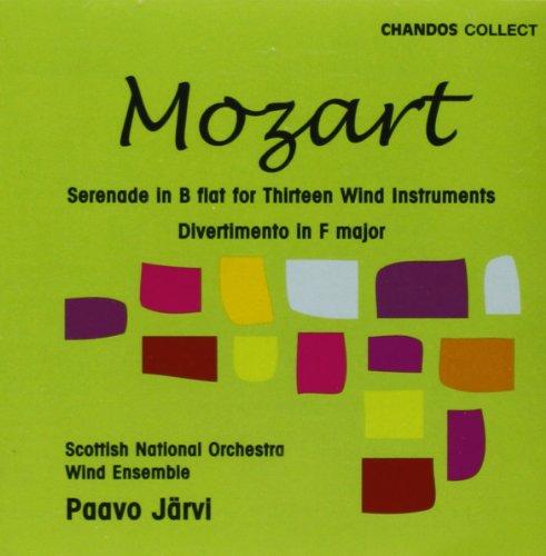 UPC 095115657522, Serenade for 13 Wind Instruments