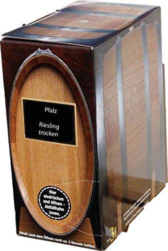 Pfälzer Weißwein Riesling trocken 1 X 3 L Bag in Box direkt vom Weingut Müller in Bornheim