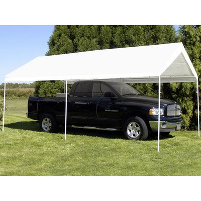 King Canopy Universal Canopy - 10 by 20 -Feet, 6 Leg, White (King Canopy Carport compare prices)
