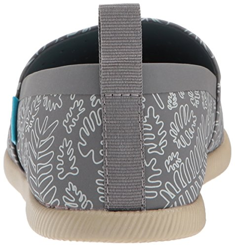 Inheemse Dames Venetië Print Slip Mode Sneaker Dublin Grijs / Rocky Bruin / Matte