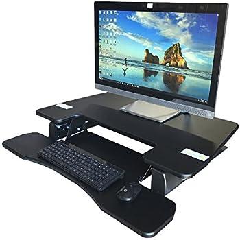 Amazon Com Fancierstudio Standing Desk Riser Desk 33