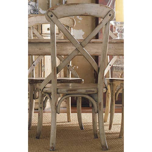 Hooker Furniture Wakefield X Back Dining Chair in Taupe by Hooker Furniture