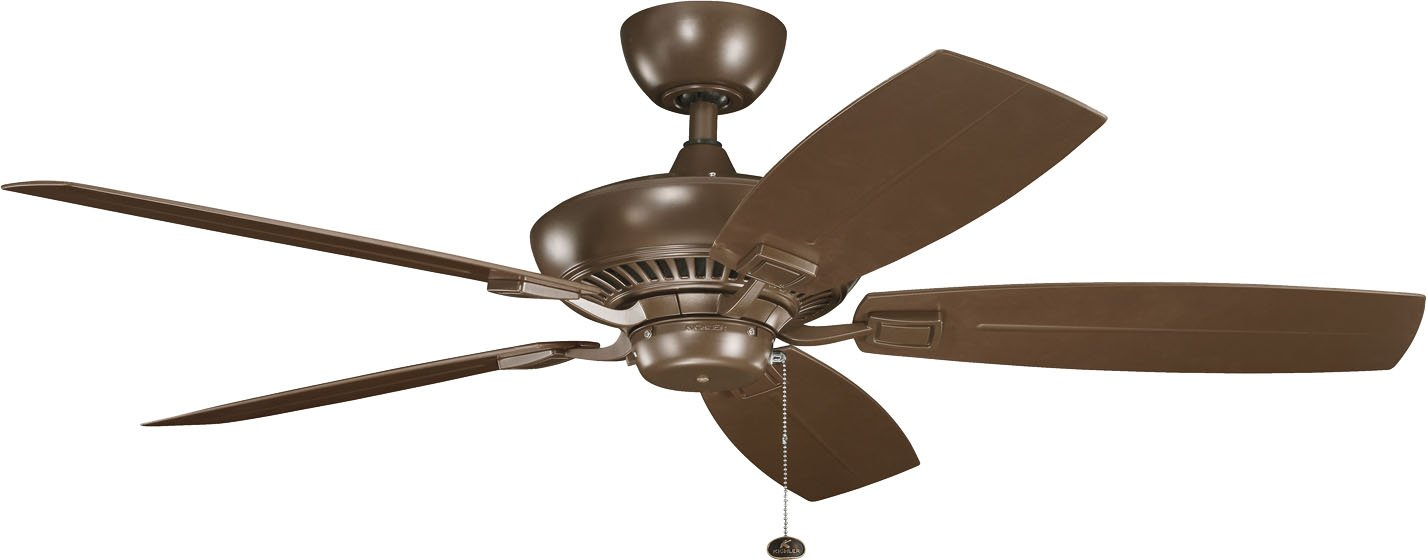 Satin Natural White Kichler 320500SNW Climates Canfield Climates Fan Motor