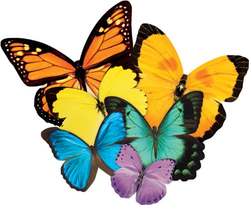 Jigsaw Shaped Puzzle 500 Pieces-Butterflies , Kid ,Toy , Hobbie , Nice Gift